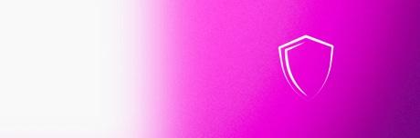 Значок: белый щит для профилактики венозной недостаточности